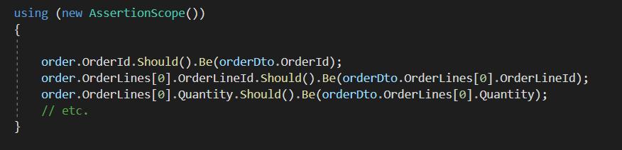 C# unit test code